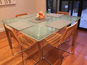 Dare Gallery Glass Dining Table Tables Gumtree