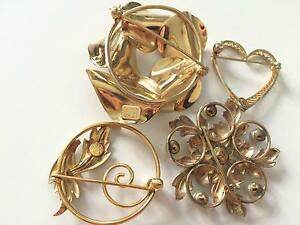 Vintage Gold Jewelry eBay