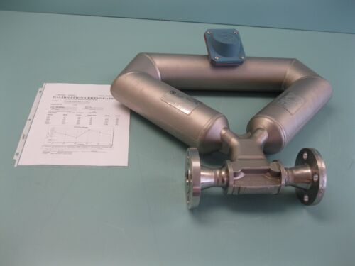 "1"" 150# Micro Motion CMF100 M328NU Coriolis Flow Sensor CALIBRATED B18 (2031)"