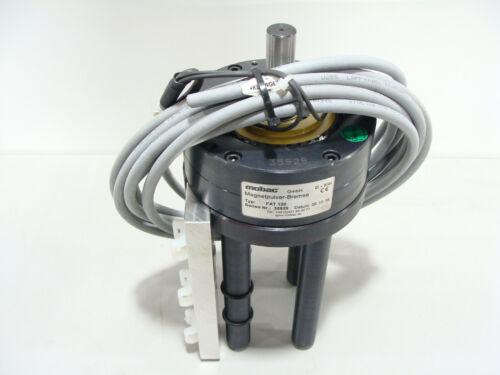 Mobac FAT 120 Through Shaft Magnetic Particle Brake W/ PowerBlock2 12nM 3000RPM