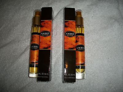 Beauti Control Ambre Eau de Parfum (1 fl oz) Bottle Lot of 2 Ambre Eau De Parfum