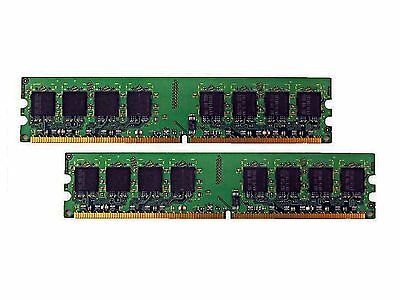 2GB (2 x 1GB) DDR2 533 DIMM PC2 4200 240-Pin CL4 Memory for Desktop Computers