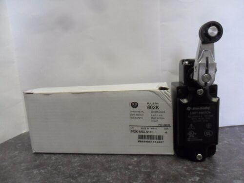 New Allen Bradley 802K-MSLS11E Large Metal Limit Switch Series A NIB