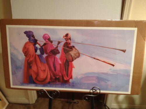 """Children of Eden"" Print by Carl Owens Artist Limited Edition"