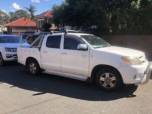 2008 Toyota Hilux Sr5 5 Sp Automatic Dual Cab P/up