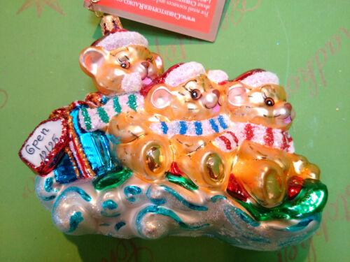 Christopher Radko Holiday Sleightful Glass Ornament
