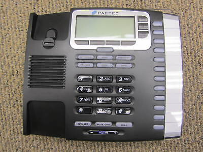 Group Of 6 - Paetec 9212 12 Button Display Ip Voip Poe Telephone