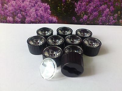 LED Linse Optik Reflektor 10 Stck. Linsen 30° für 1W 3W 5W Power LED Leds Lens