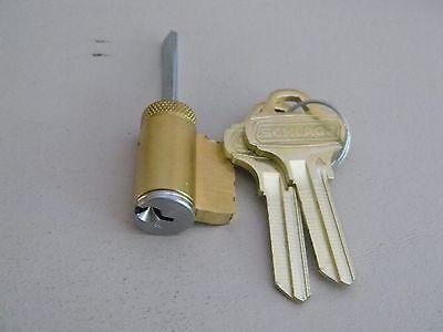 Schlage Everest C123 Deadbolt Cylinder- Satin Chrome 626- B Series Deadbolts