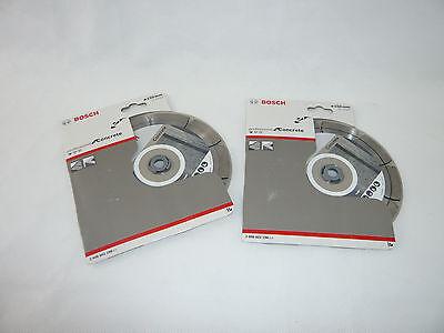 2x BOSCH 150mm Diamanttrennscheibe Standard for Concrete 2 608 602 198 GNF 35 CA online kaufen