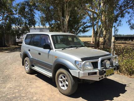 2002 Toyota LandCruiser SUV Albury Albury Area Preview