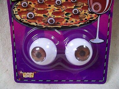 Small Realistic Eyeballs Halloween Prop Eyes Pumpkin Mask Haunted Decor Morgue