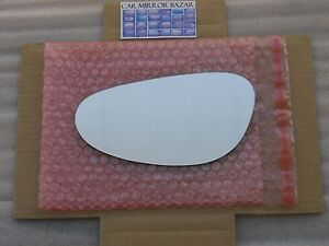 835L Mirror Glass for PORSCHE 996 911 Boxster Carrera Driver Side Left FAST SHIP