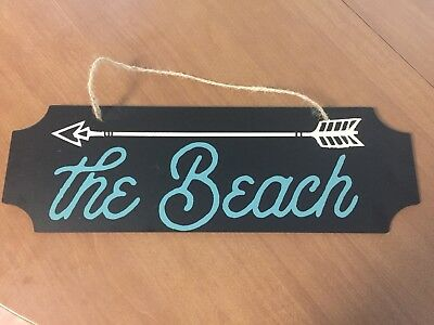 To the Beach Rustic Chic Chalkboard  Sign Decor Gift Ideas NEW](Chalkboard Ideas)