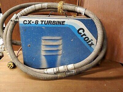 Cx-8 Turbine Graco Croix Hvlp Spray Paint System
