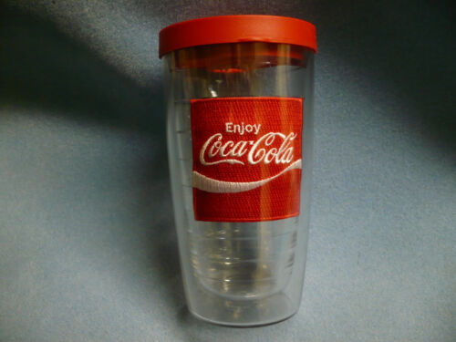 Tervis Coca-Cola 16oz Tumbler Cup with Red Lid