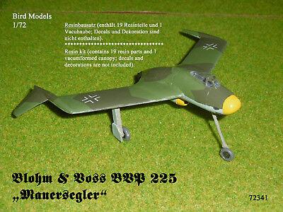 "Blohm & Voss BVP 225 ""Mauersegler""   1/72 Bird Models Resinbausatz / resin kit"