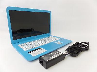 """HP Stream 14-ax010wm 14"""" HD Celeron N3060 1.6GHz 4GB 32GB W10H Laptop X7S46UA U1"""
