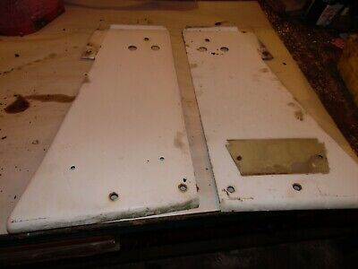 1965 Farmall 806 Diesel Farm Tractor Grill Side Panels