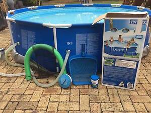 Intex framed swimming Pool Parkwood Canning Area Preview