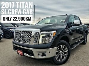 2017 Nissan Titan SL Heated Leather Navigation  FREE Delivery