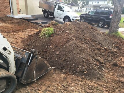 DIRT / SOIL / FILL REMOVAL / TIPPER & EXCAVATOR HIRE