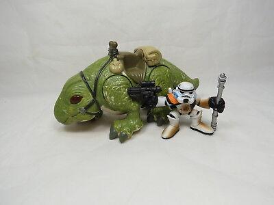 Star Wars Galactic Heroes Dewback w/ Sandtrooper Commander Great Gift! B18 1](Stars Wars Gifts)