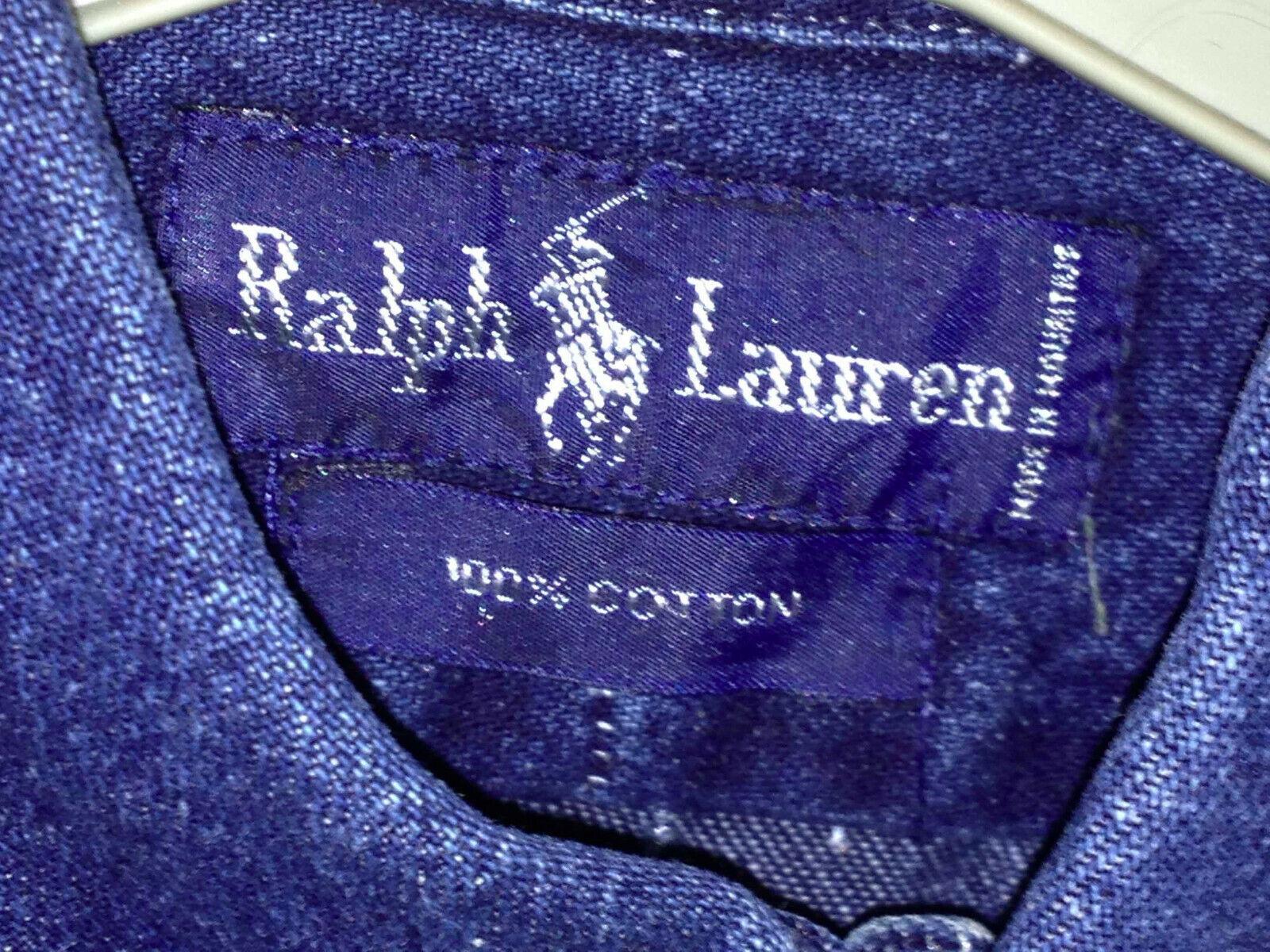 Chemise en jeans pour femme ralph lauren taille m