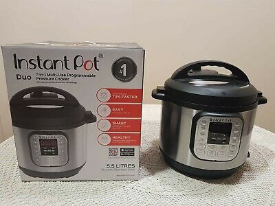 Instant Pot Pentola a pressione MultiCooker Elettrico Duo Capacità 5,7 Litri