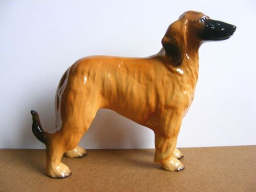 Hagen Renaker Specialties Afghan Hound 2018 Miniature Animal Figurine Dog