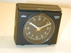 VINTAGE BRAUN ANALOG ALARM CLOCK SILENTIME 4 849/AB22