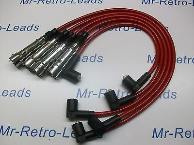 RED 8MM PERFORMANCE IGNITION LEADS FOR THE POLO 1.4 QUALITY BUILD HT LEADS....