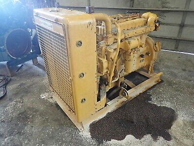 Caterpillar 3306 Pc Turbo Diesel Engine Runs Exc. Low Hours D333 Short Pump