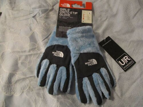 NWT THE NORTH FACE GIRLS OSITO ETIP GLOVE LARGE