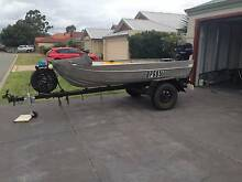 12' Aluminium Dinghy with Trailer Cloverdale Belmont Area Preview