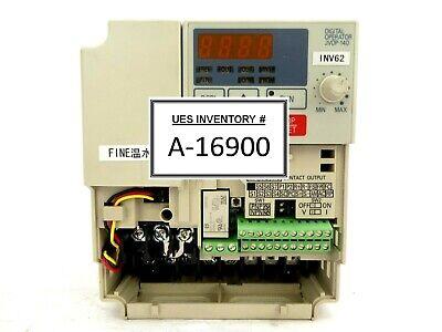 Yaskawa Electric Cimr-v7aa21p5 Inverter Drive Vs Mini V7 No Cover Nikon Nsr