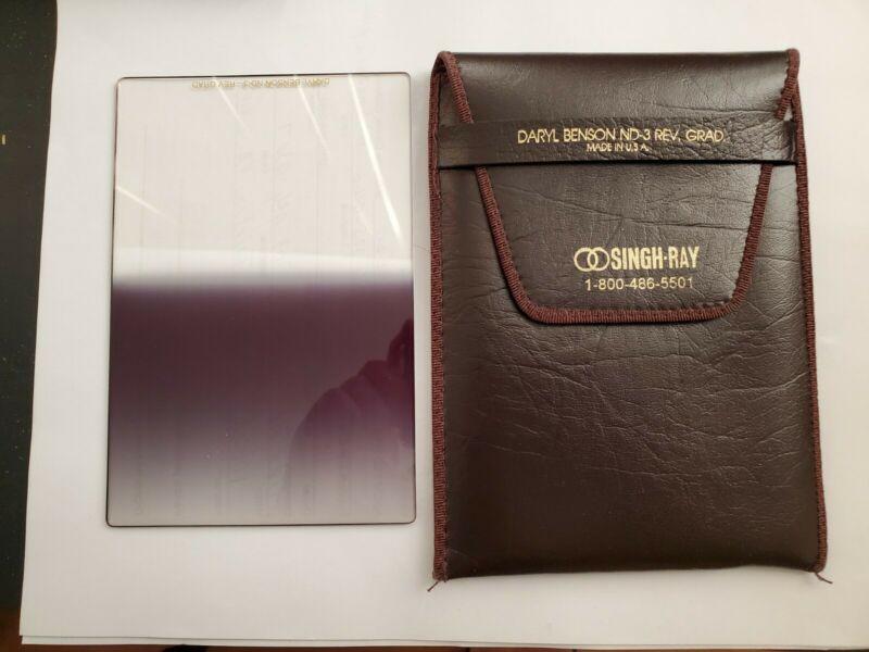 SINGH-RAY Daryl Benson ND-3 Reverse Graduated Filter 100mm×150mm