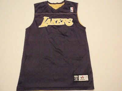 d85aa84df Los Angeles Lakers Reversible Practice NBA Jersey Alleson Size Men Small  10