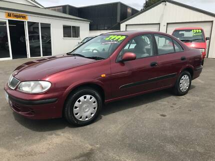 2000 Nissan Pulsar Sedan - automatic. Invermay Launceston Area Preview