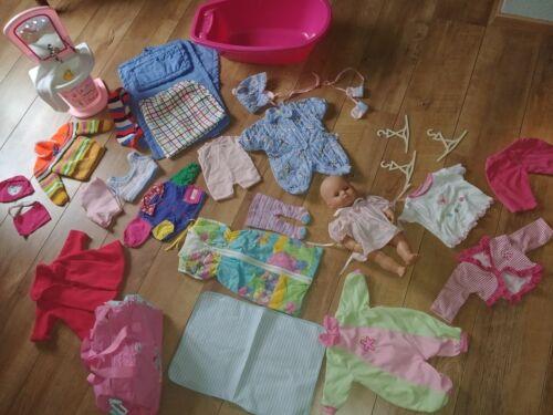 Zapf Puppe Puppenkleidung Baby Born Interactive Waschbecken