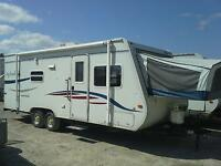 2007 Jayco Jay feather ultra light hybrid 23B