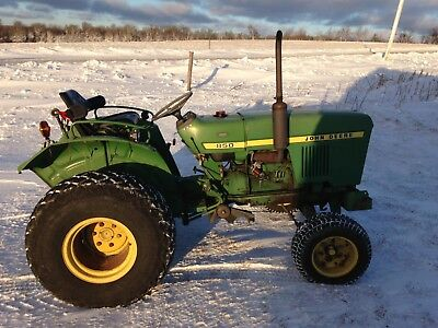 John Deere 850 Tractor 3 Cyl Yanmar Diesel 25 Hp Runs Great