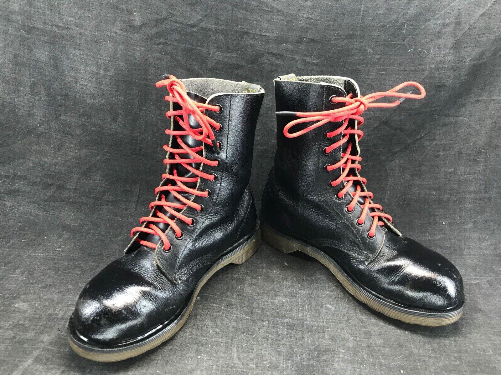 Doc martens noire 5929 10 trous taille uk 6 point 39 / chaussures punk , ska