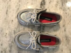 Toddler size 6 Sperrys