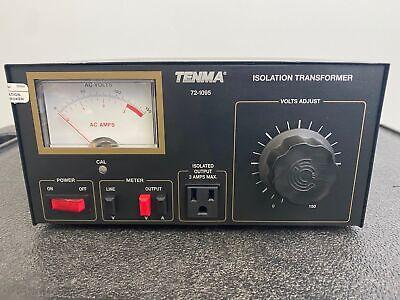 Tenma 72-1095 Isolation Transformer 0820051840 Fuse 3a 250v Free Shipping