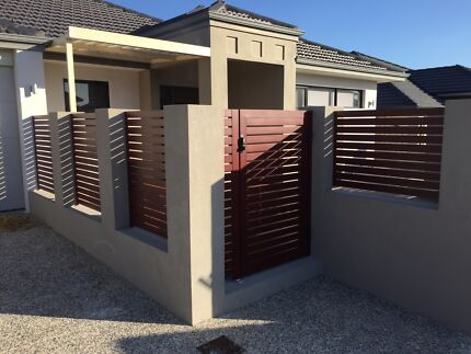 Fencing, Gates and Screens. Glass and Aluminium Wangara Wanneroo Area Preview
