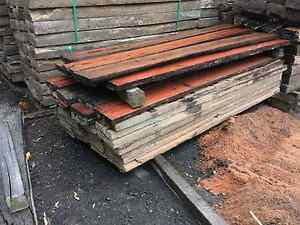 Railway sleepers custom cut to length and thickness milling saw Nerang Gold Coast West Preview