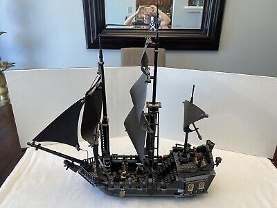 LEGO Pirates Of The Caribbean 4184 The Black Pearl Complete No Box