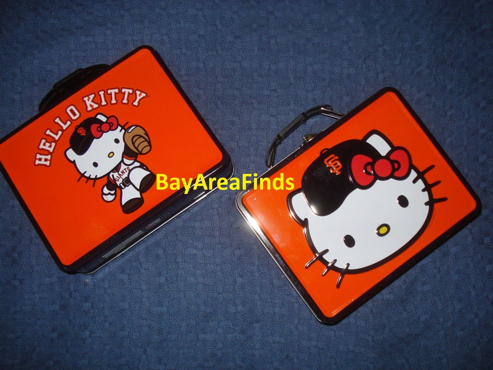 San Francisco Giants Hello Kitty Lunch Box Collectors tin SF