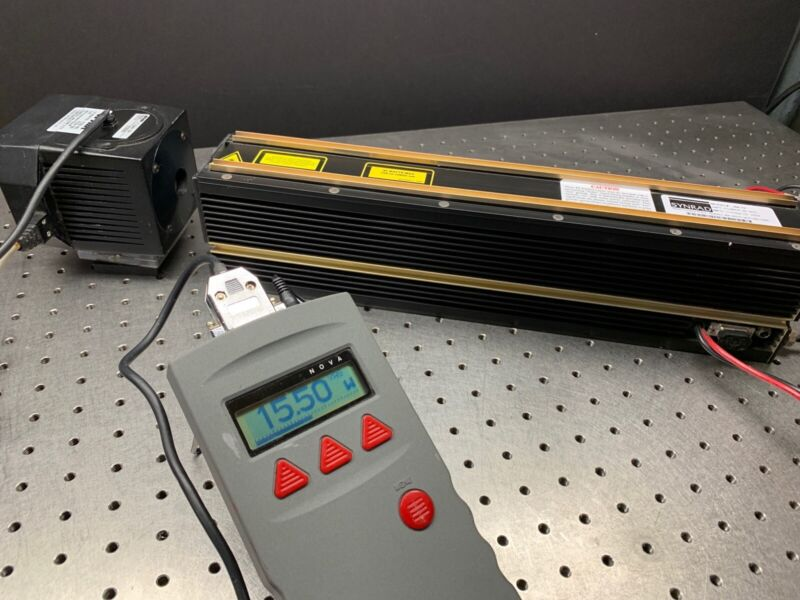 Synrad J48-1S CO2 Laser w/ DC Power Supply TESTED